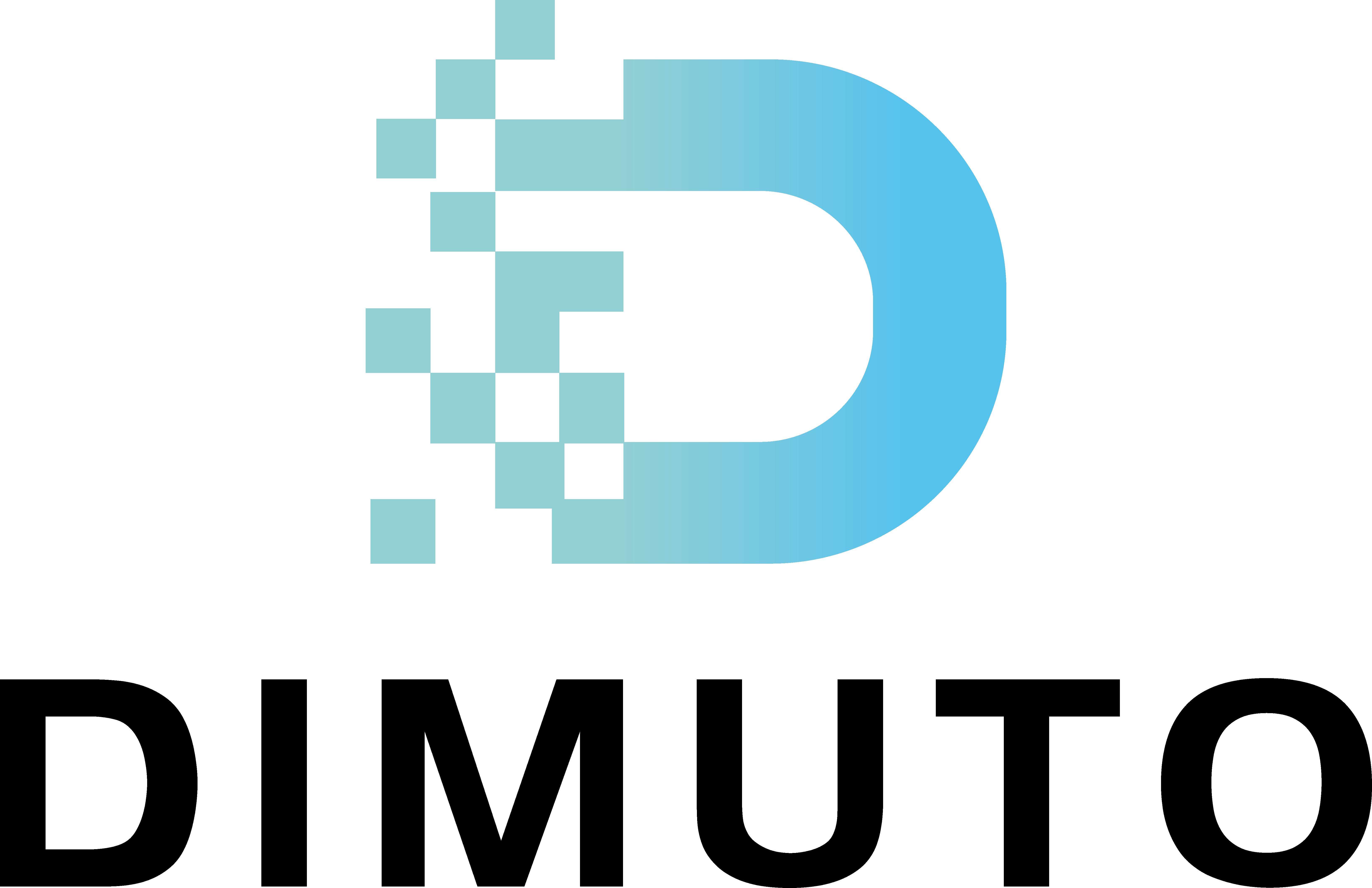 dimuto logo - white BG